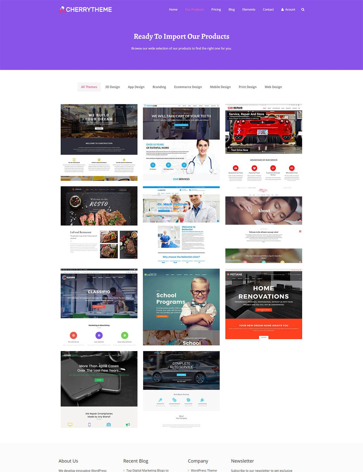 CherryTheme - Marketplace Easy Digital Download Screenshot 1