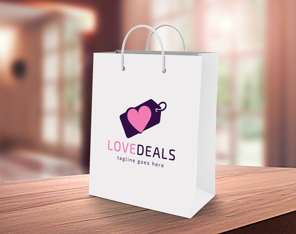 Love Deals Logo Template Screenshot 4