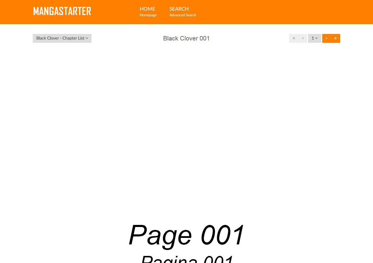 MangaStarter - Build a Manga Reader with WordPress Screenshot 3