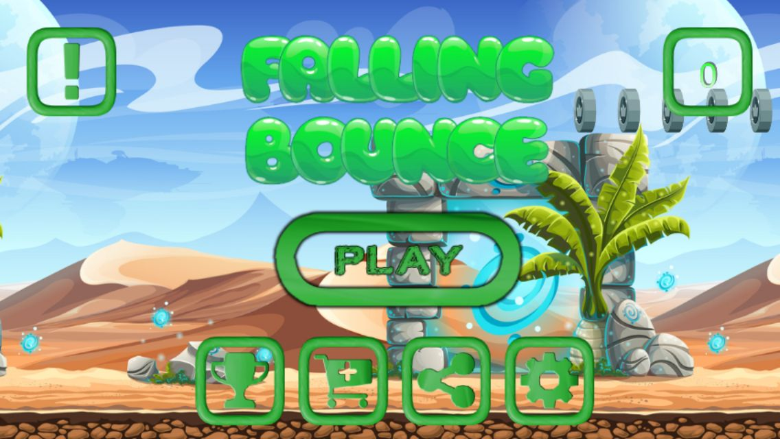 Falling Bounce - Buildbox Template Screenshot 7