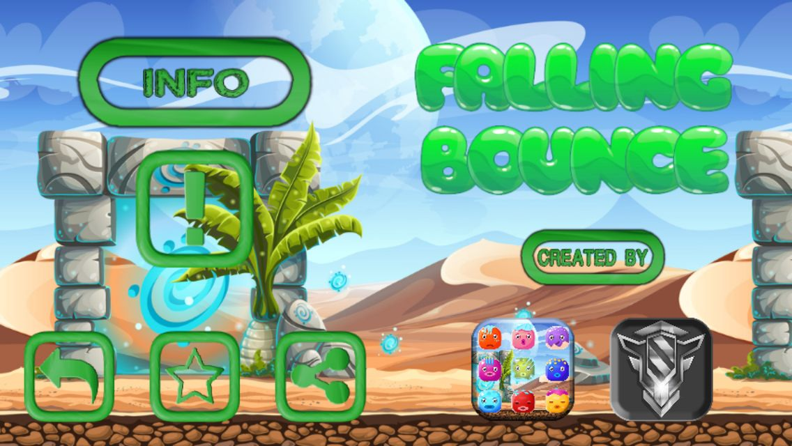 Falling Bounce - Buildbox Template Screenshot 8