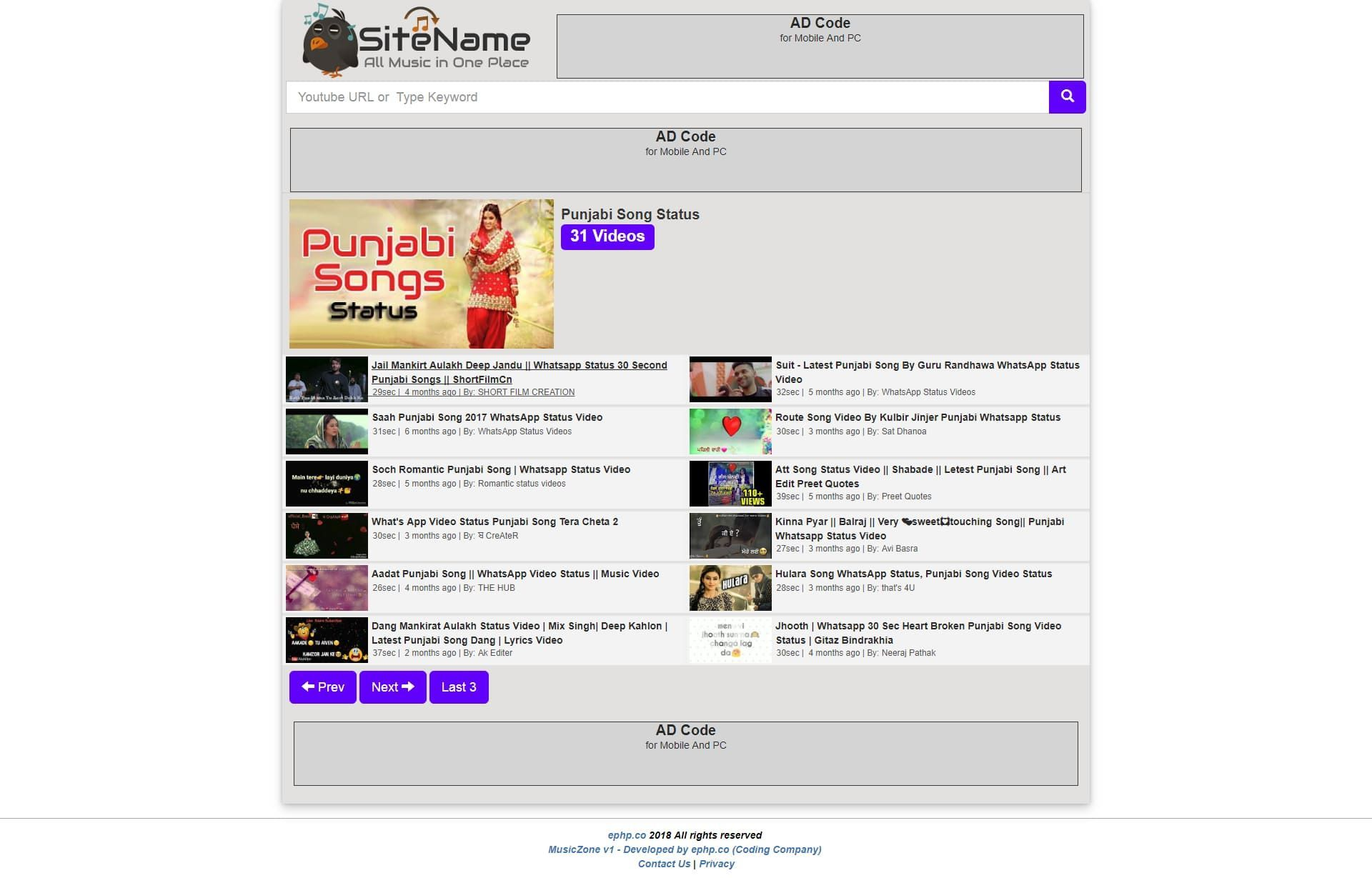MusicZone Youtube Mp3 And Video Downloader Screenshot 3