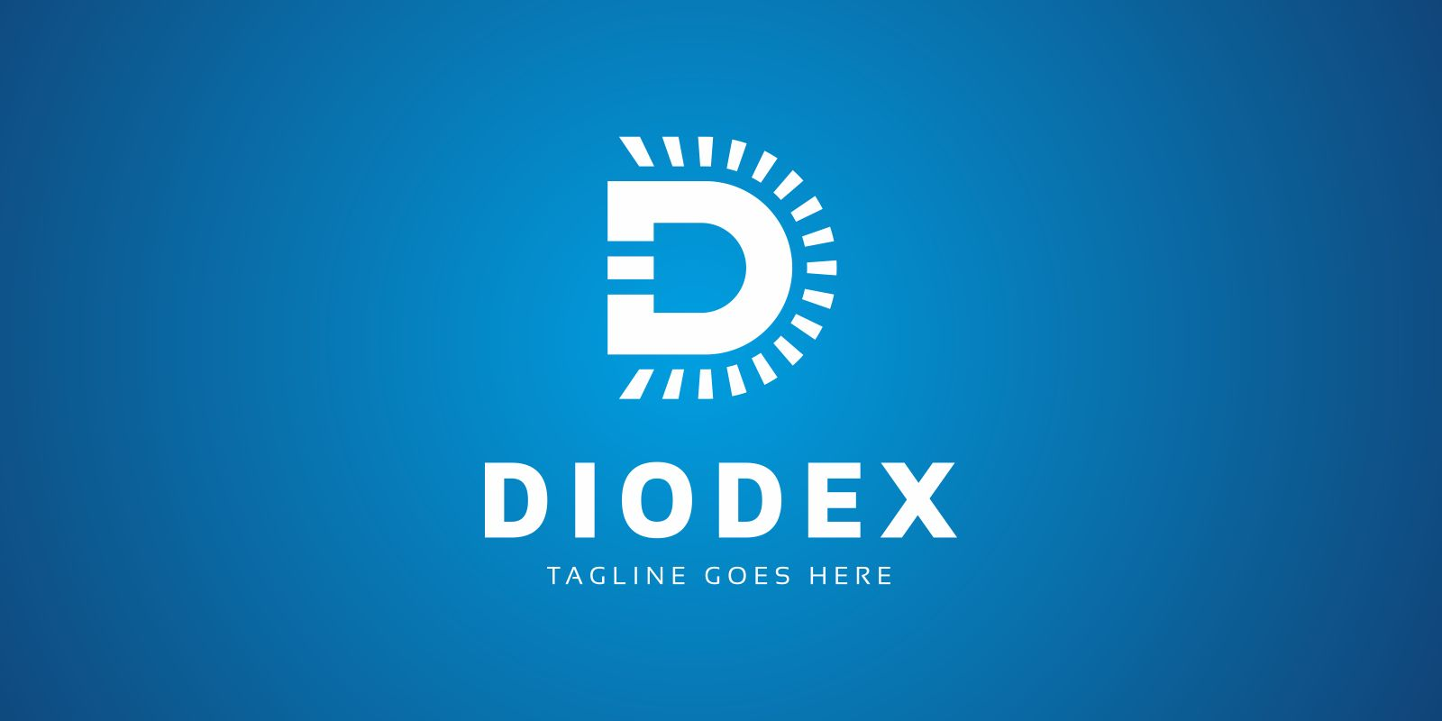 Diodex Led Logo Template Screenshot 2