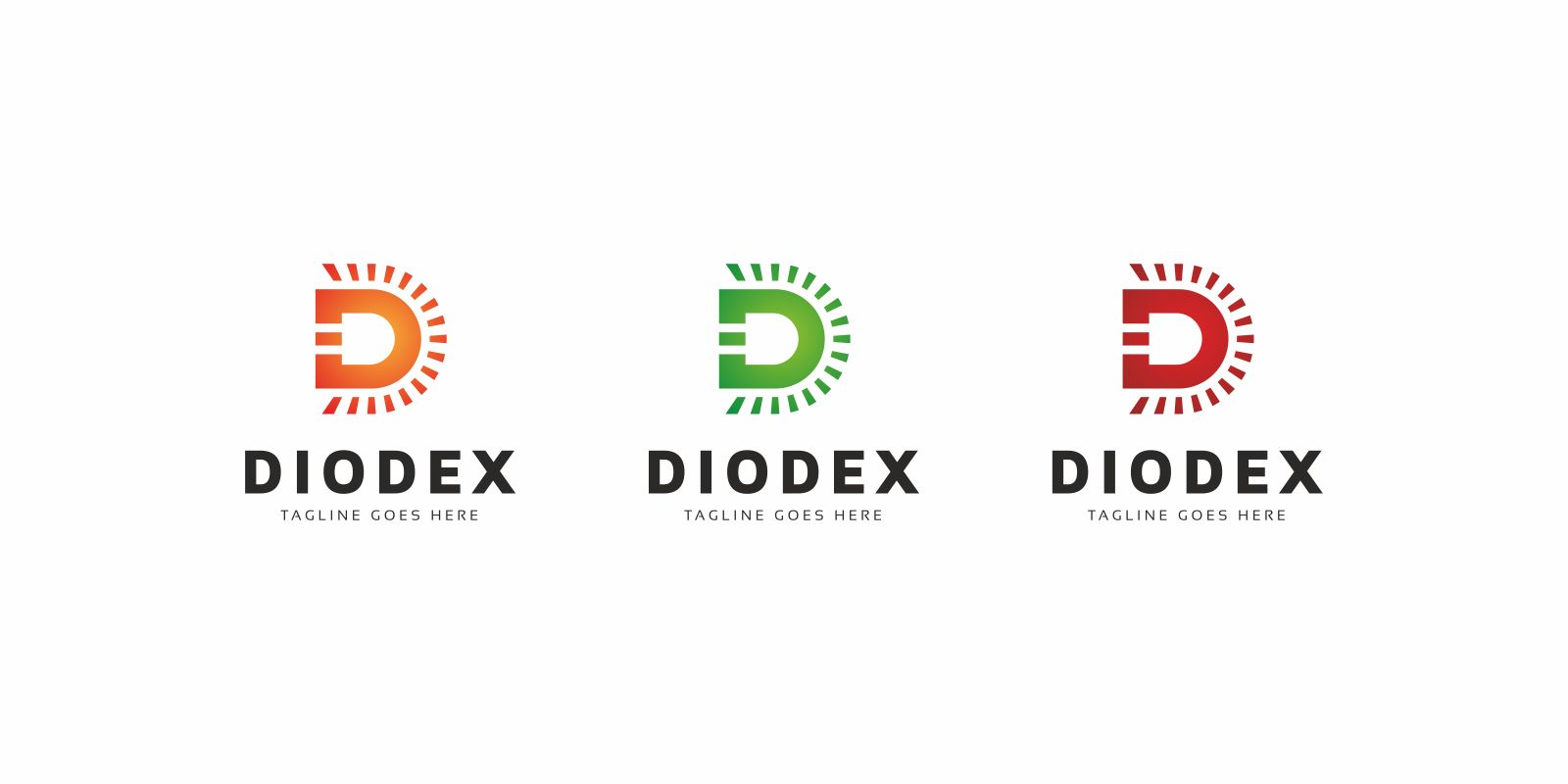 Diodex Led Logo Template Screenshot 3