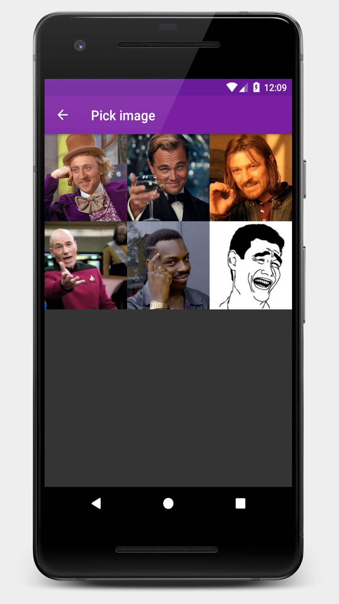 meme generator android source code photo app templates for