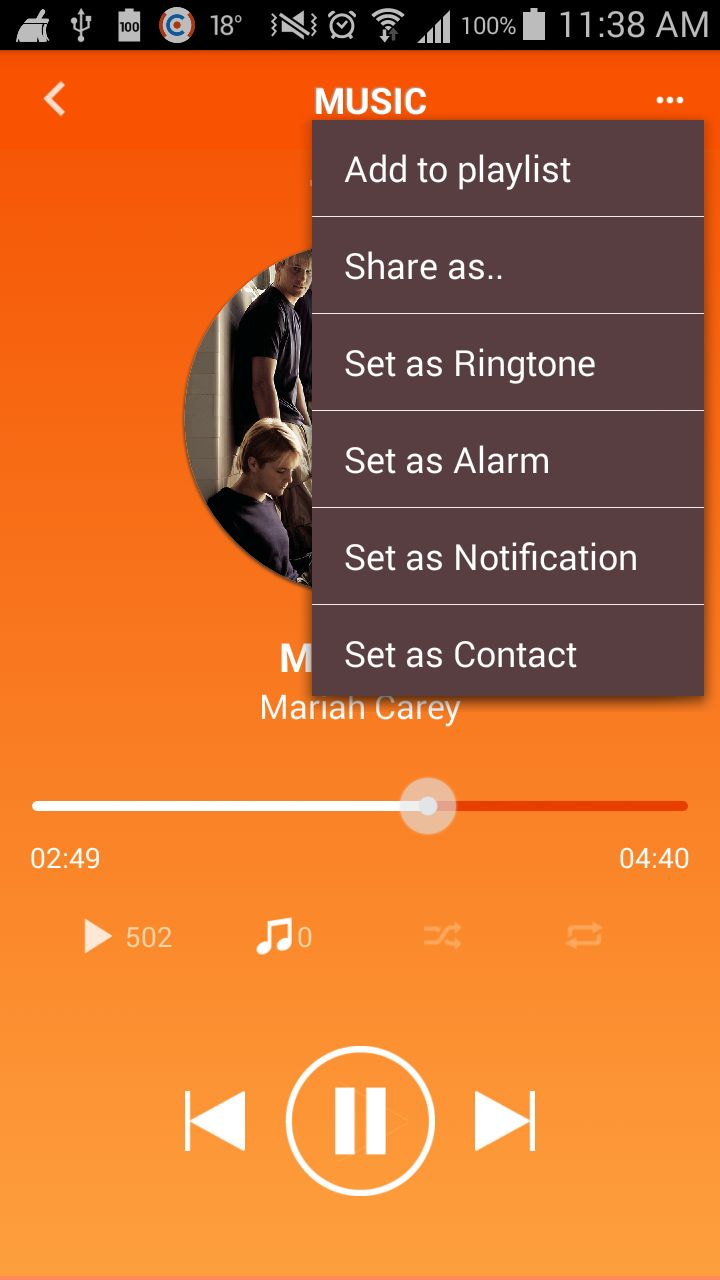 Music MP3 - Android App Source Code Screenshot 10