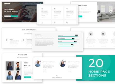 Bizplan Pro - WordPress Theme Screenshot 1