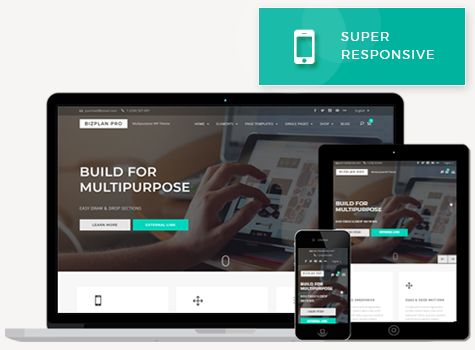 Bizplan Pro - WordPress Theme Screenshot 7