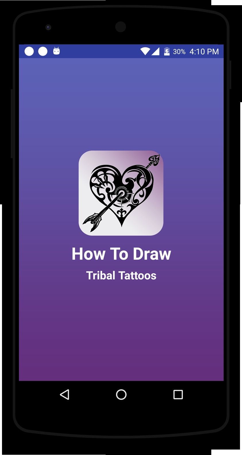 How To Draw Tribal Tattoos - Android Source Code Screenshot 1