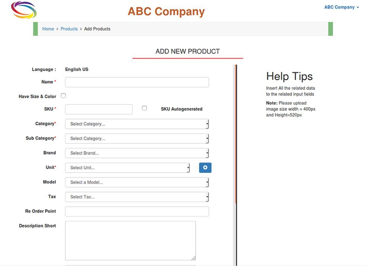 Sistem Pengelolaan Inventaris Screenshot PHP 1