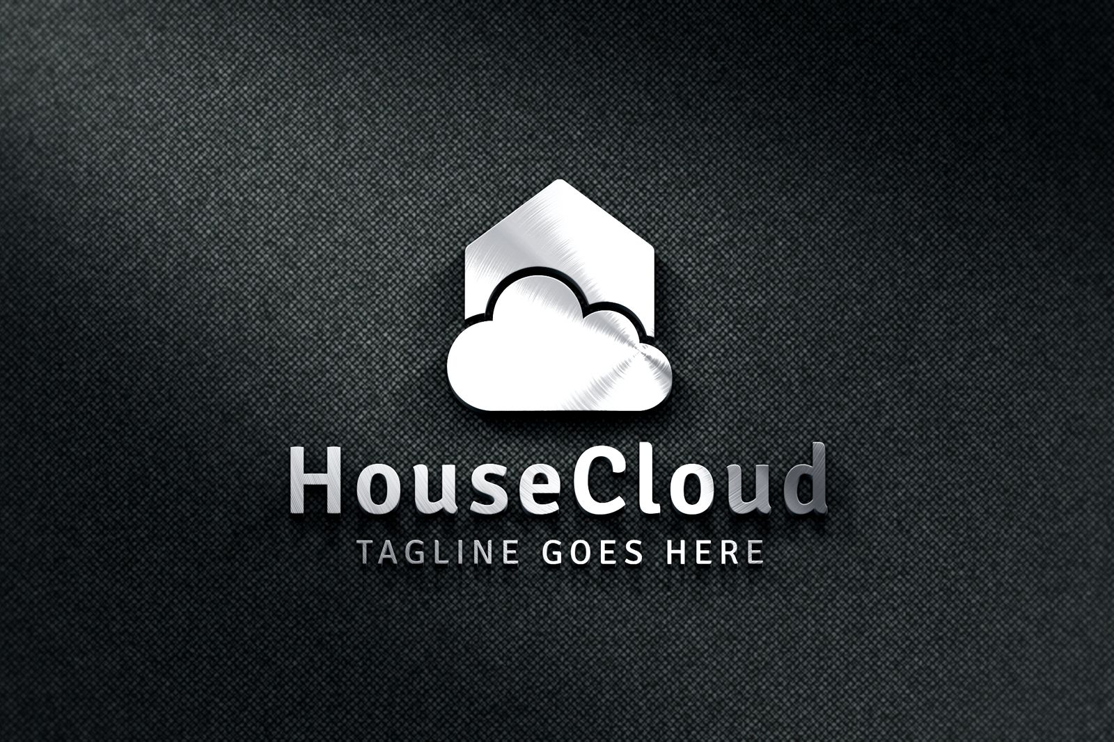 House Cloud - Logo Template Screenshot 1