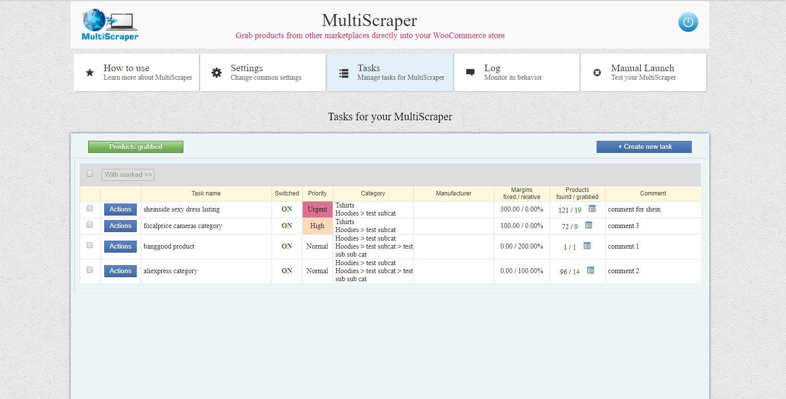 MultiScraper For WooCommerce