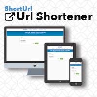 ShortUrl – Simple Url Shortener PHP Script