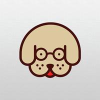 Geeky Dog - Logo Template