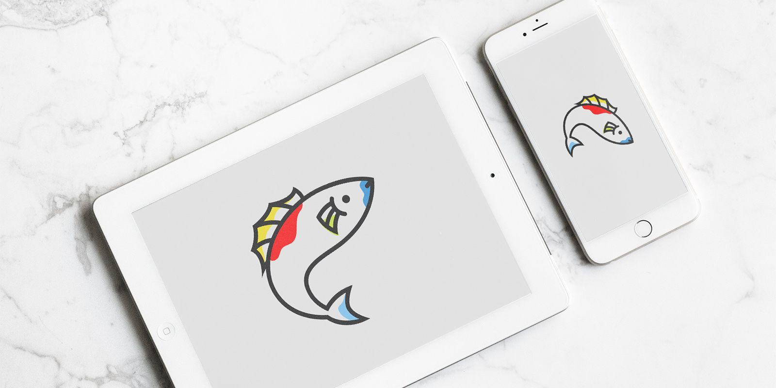 Fishing - Logo Template Screenshot 2