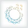 digital-flower-logo-template