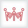 people-crown-logo-template