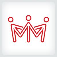 People Crown - Logo Template