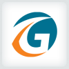 letter-g-path-logo-template
