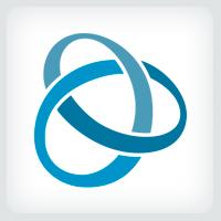 Ribbon Loop - Logo Template