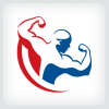 body-builder-logo-template