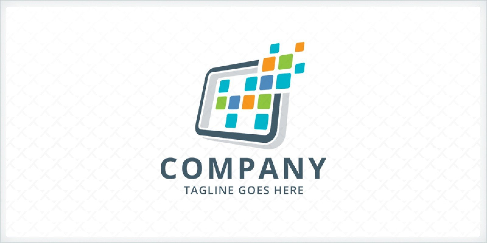Computer Logo Template Tech Logo Templates Codester