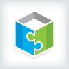 puzzle-box-logo-template