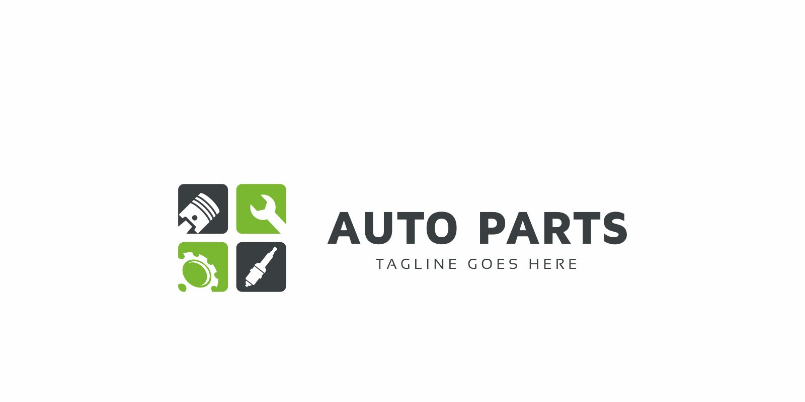 Auto Parts Logo Template Screenshot 3