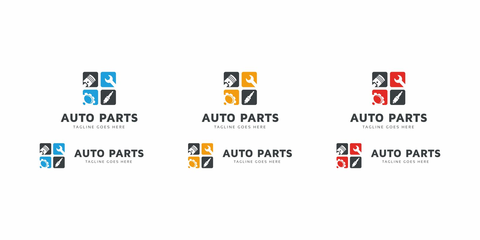 Auto Parts Logo Template Screenshot 4