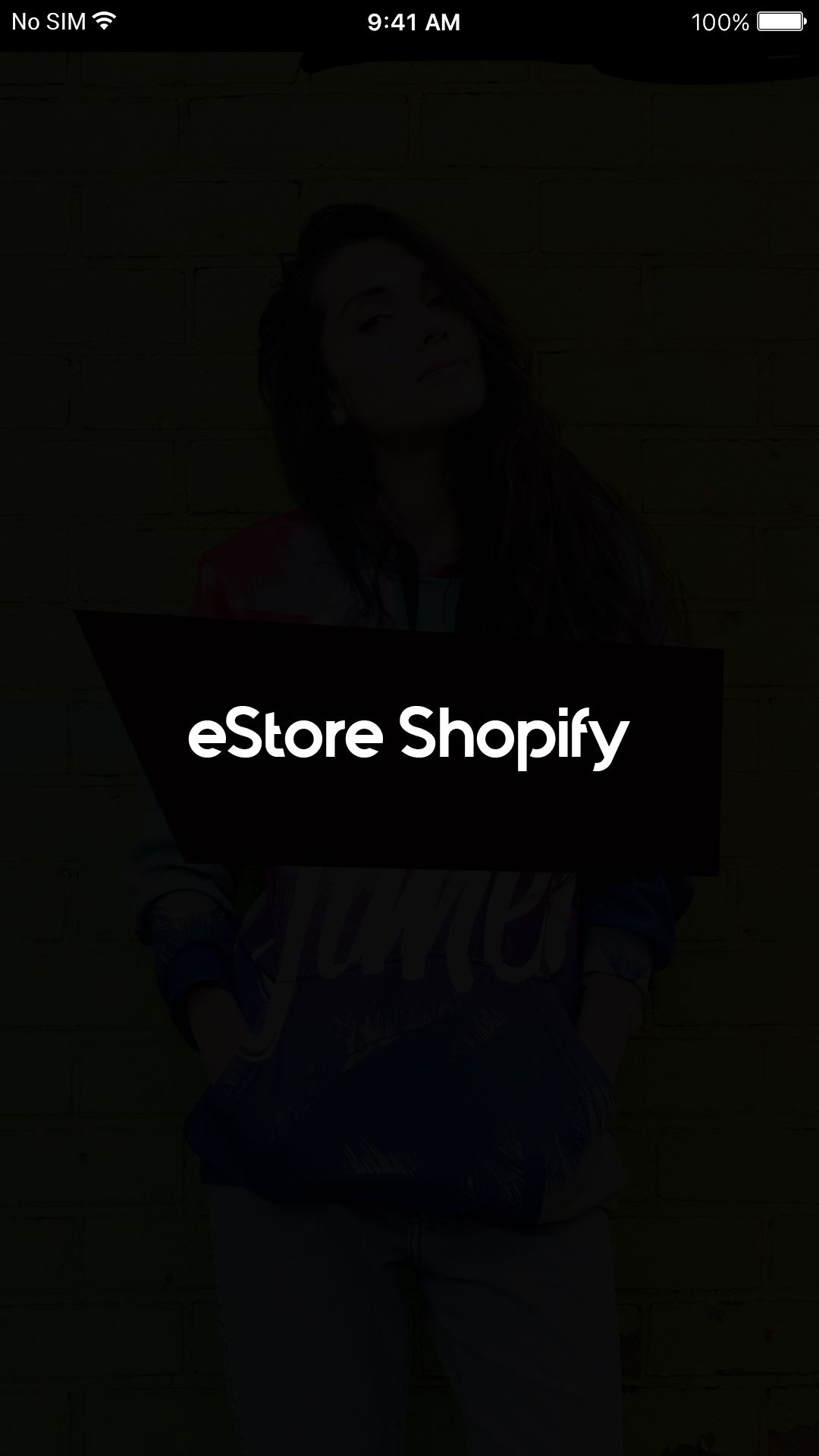 eStore Shopify - iOS App Source Code Screenshot 1