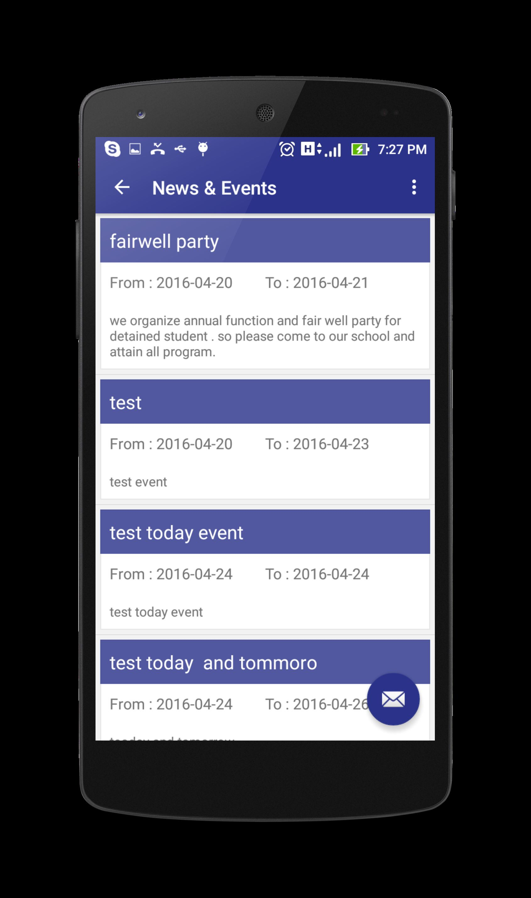 Education App - Android Source Code Screenshot 12