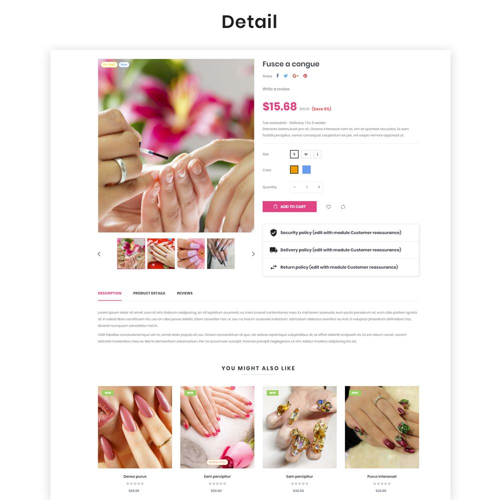 Ap Passionate - PrestaShop Theme Screenshot 3