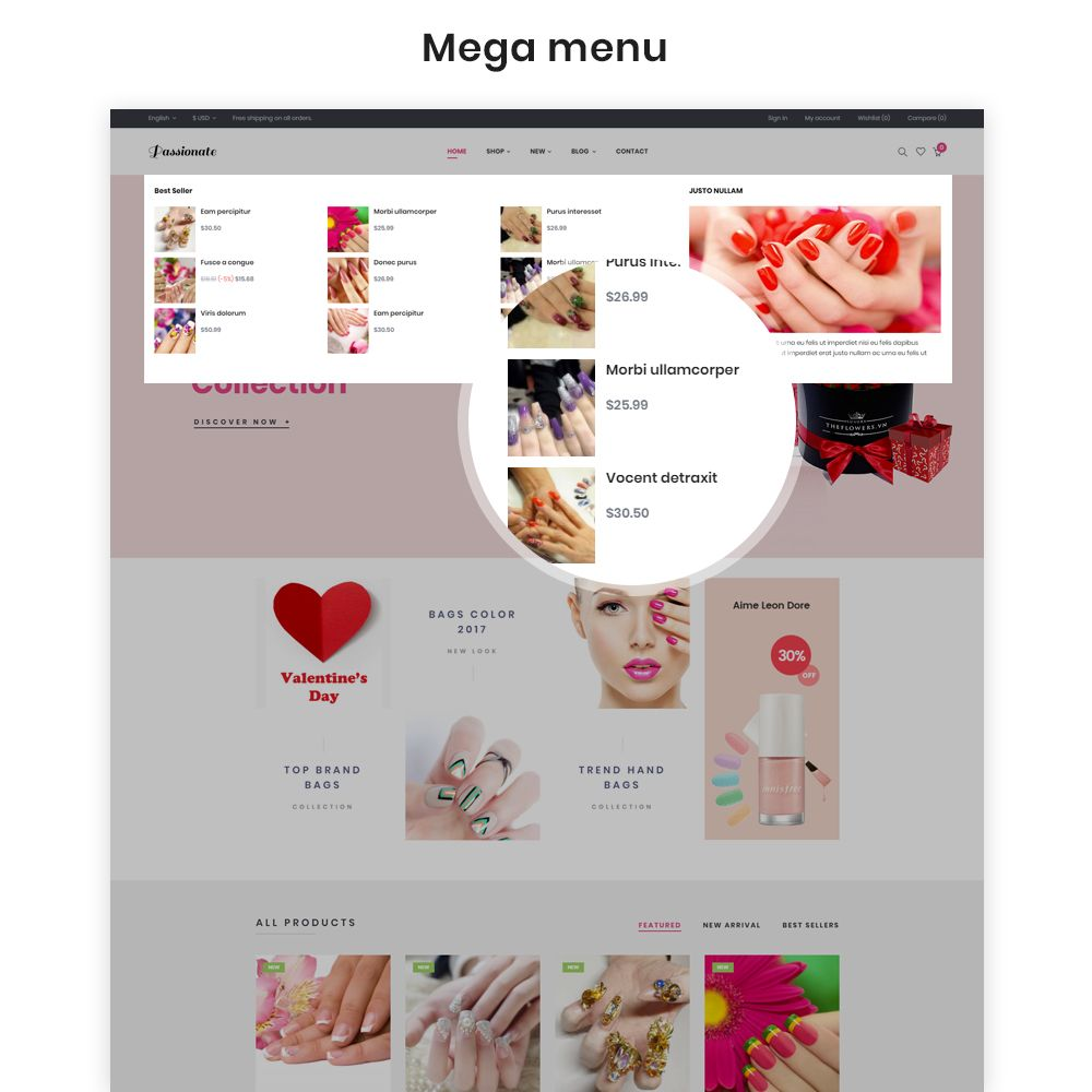 Ap Passionate - PrestaShop Theme Screenshot 5