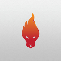 Lion Fire - Logo Template