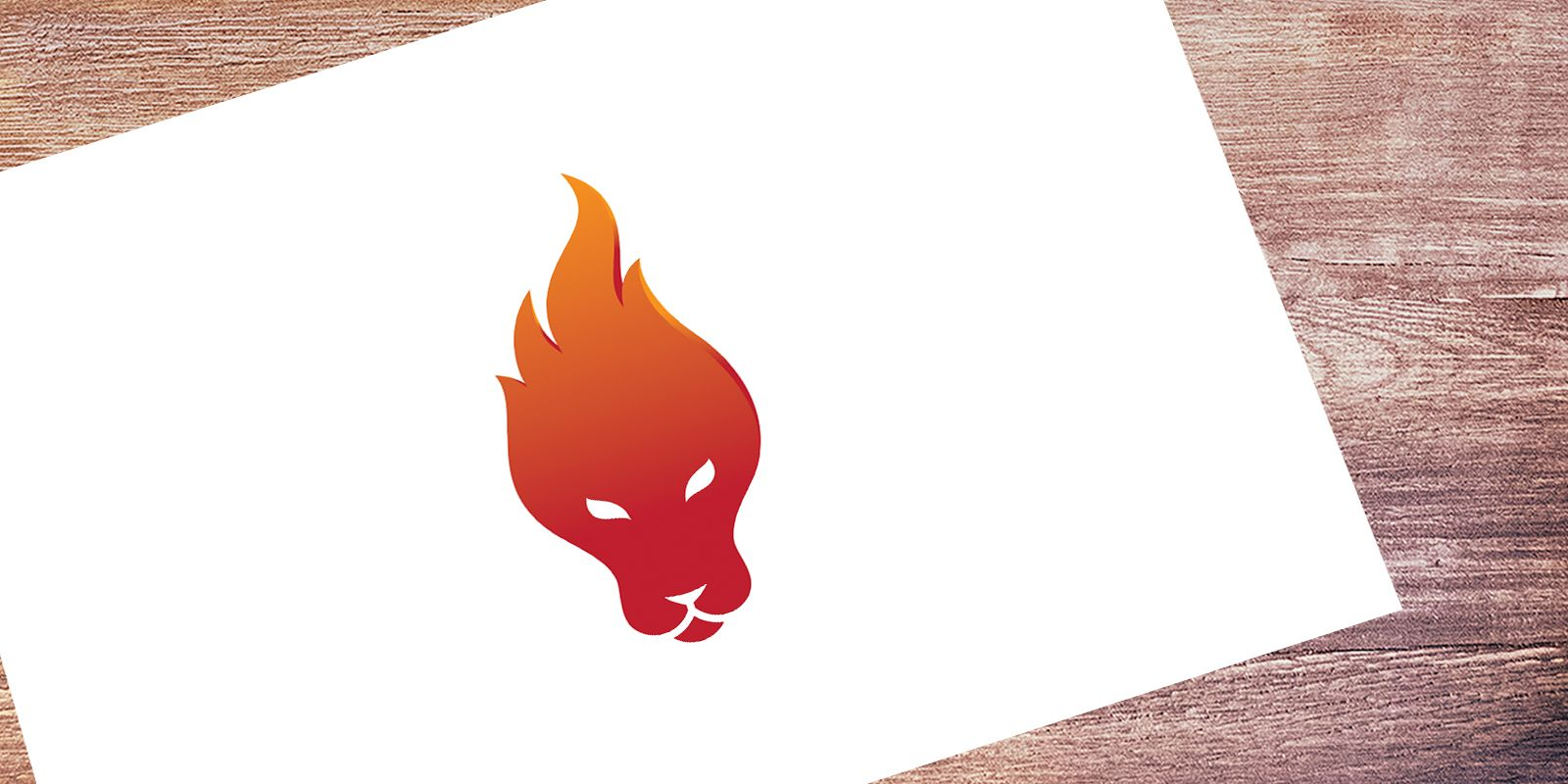 Lion Fire - Logo Template Screenshot 3