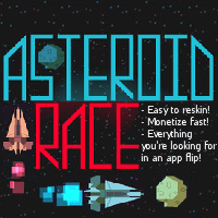 Asteroid Race - iOS Game Source Code