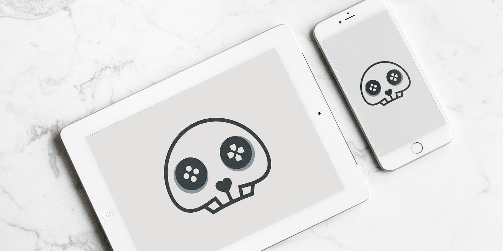 Skull Game - Logo Template Screenshot 2