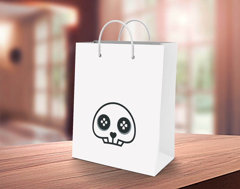 Skull Game - Logo Template Screenshot 3
