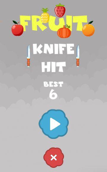 Fruit Knife Hit Unity3D Source Code