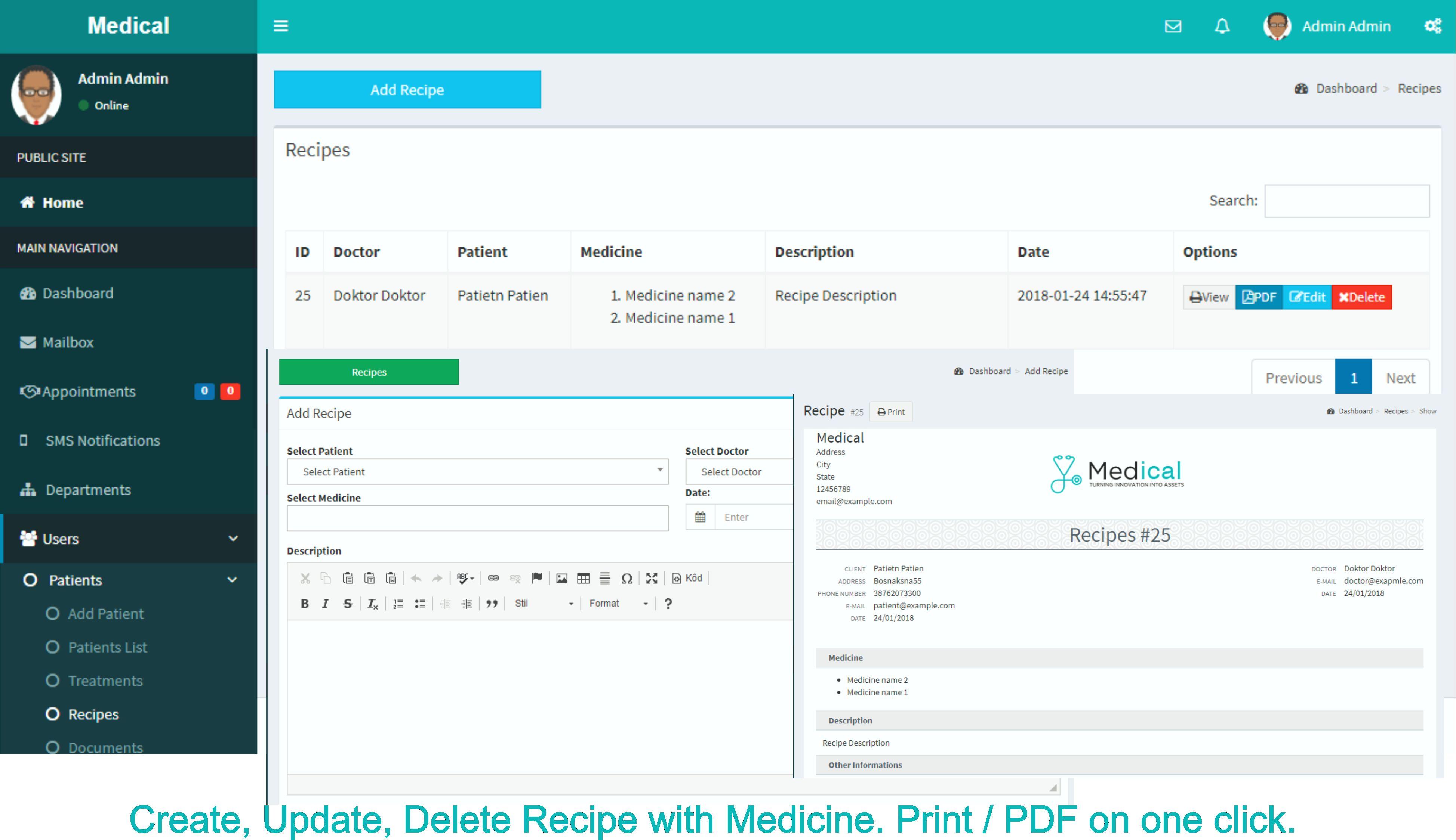 Hospital Management System Php Script Codester