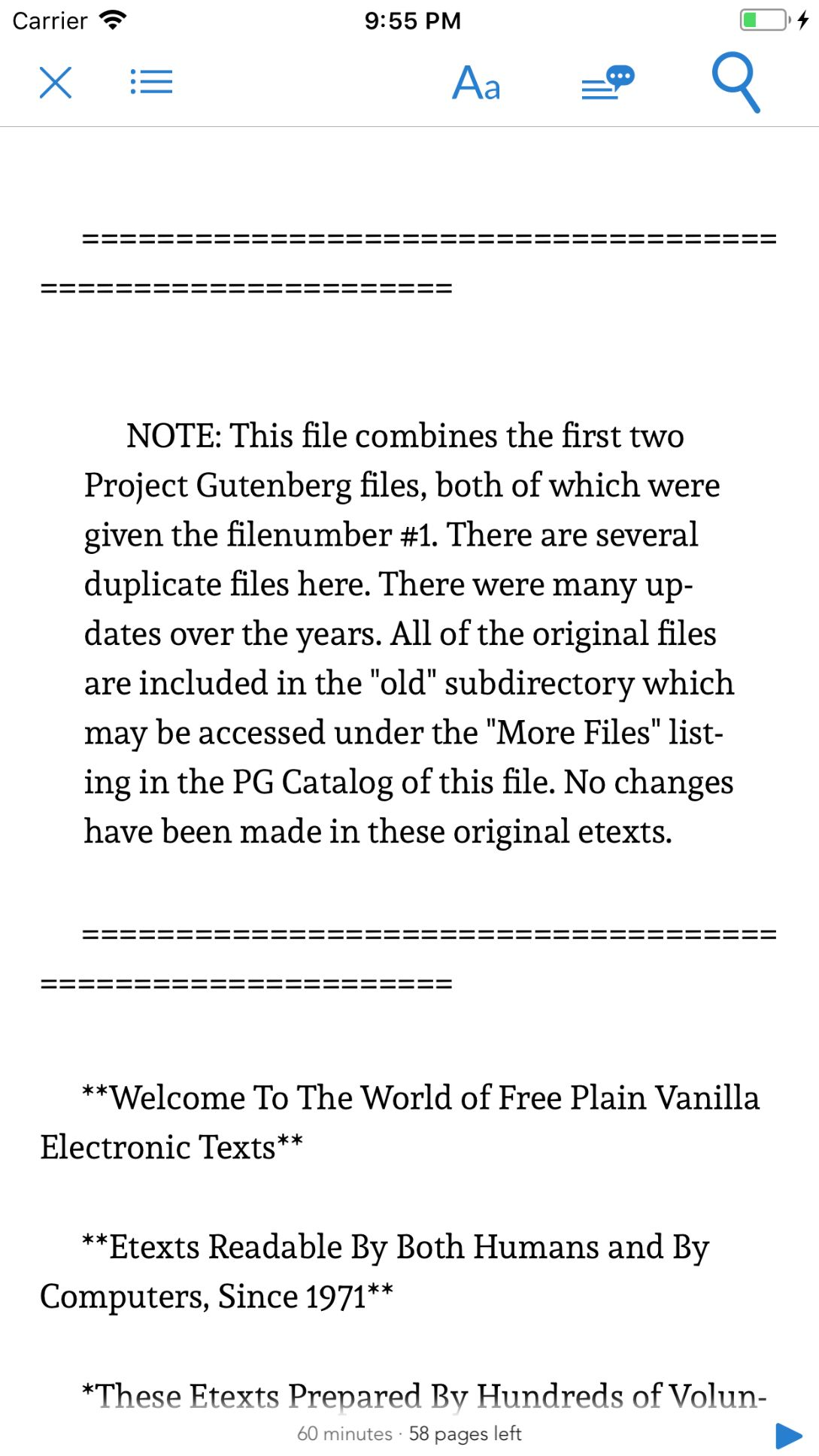 Ebook Reader - iOS App Source Code Screenshot 5