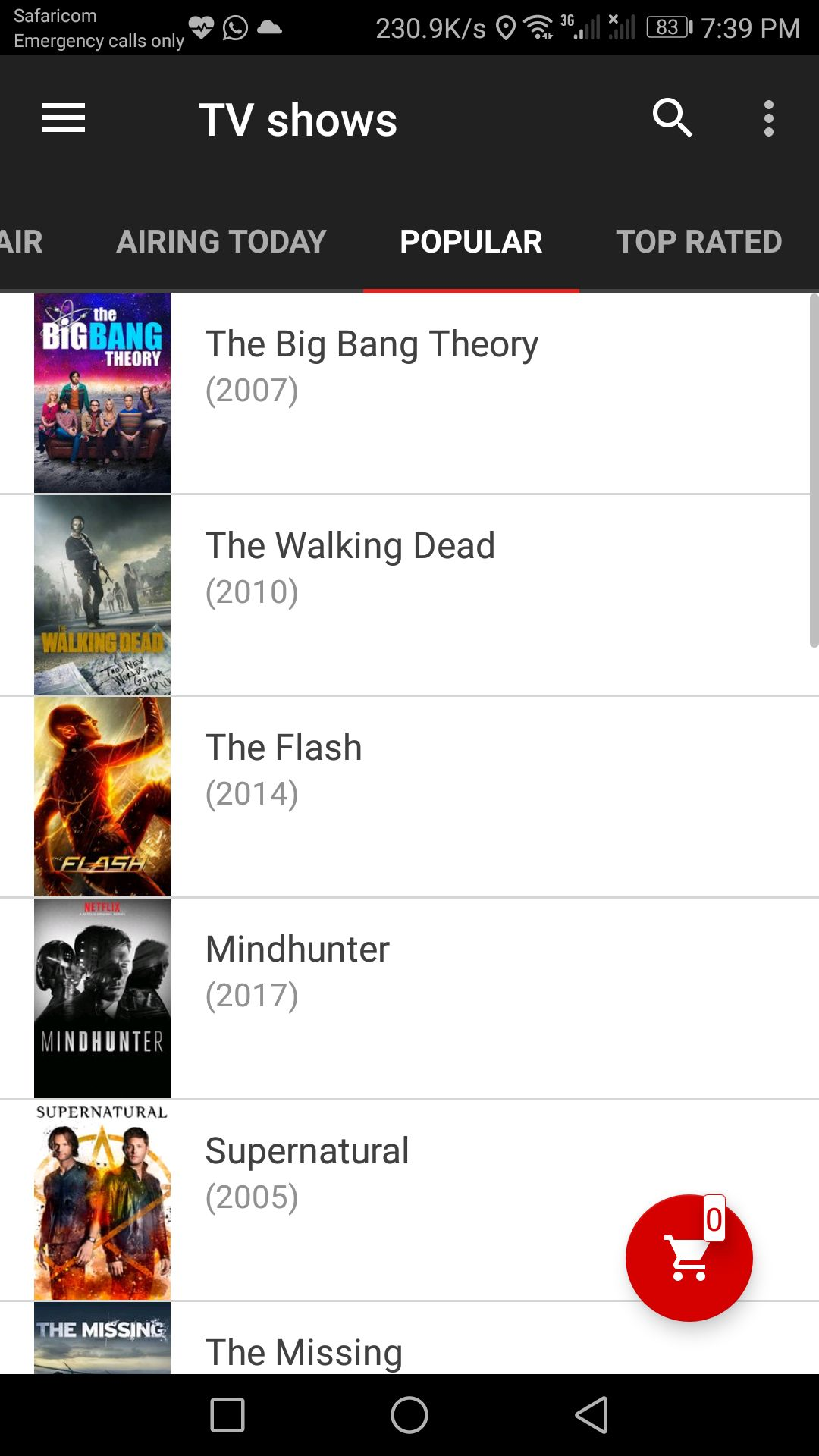 Movie App - Android Source Code And Backend Screenshot 9