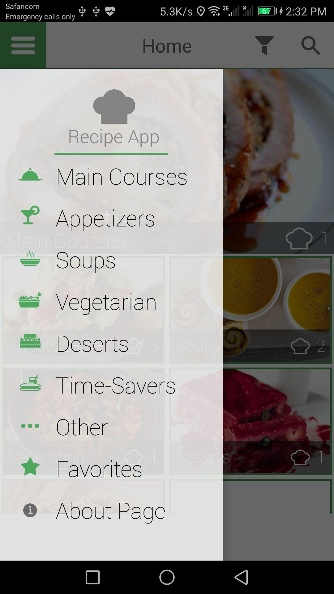 Recipe app android source code food app templates for android recipe app android source code screenshot 7 forumfinder Gallery