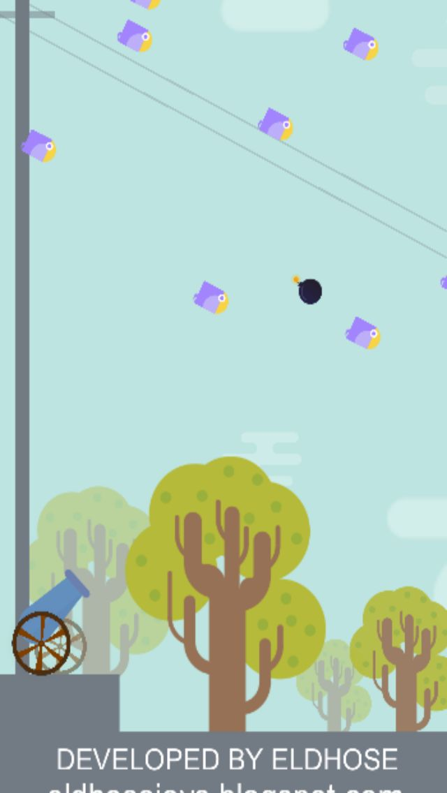 Bomb The Birds - Buildbox Project Screenshot 2