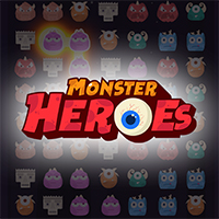 Monsters Heroes - Match 3 - Unity Project
