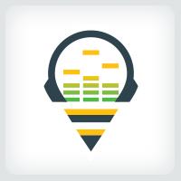 Music Equalizer - Bee Logo
