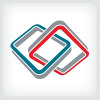 Two Rectangles Logo