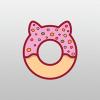 donut-pet-logo-template