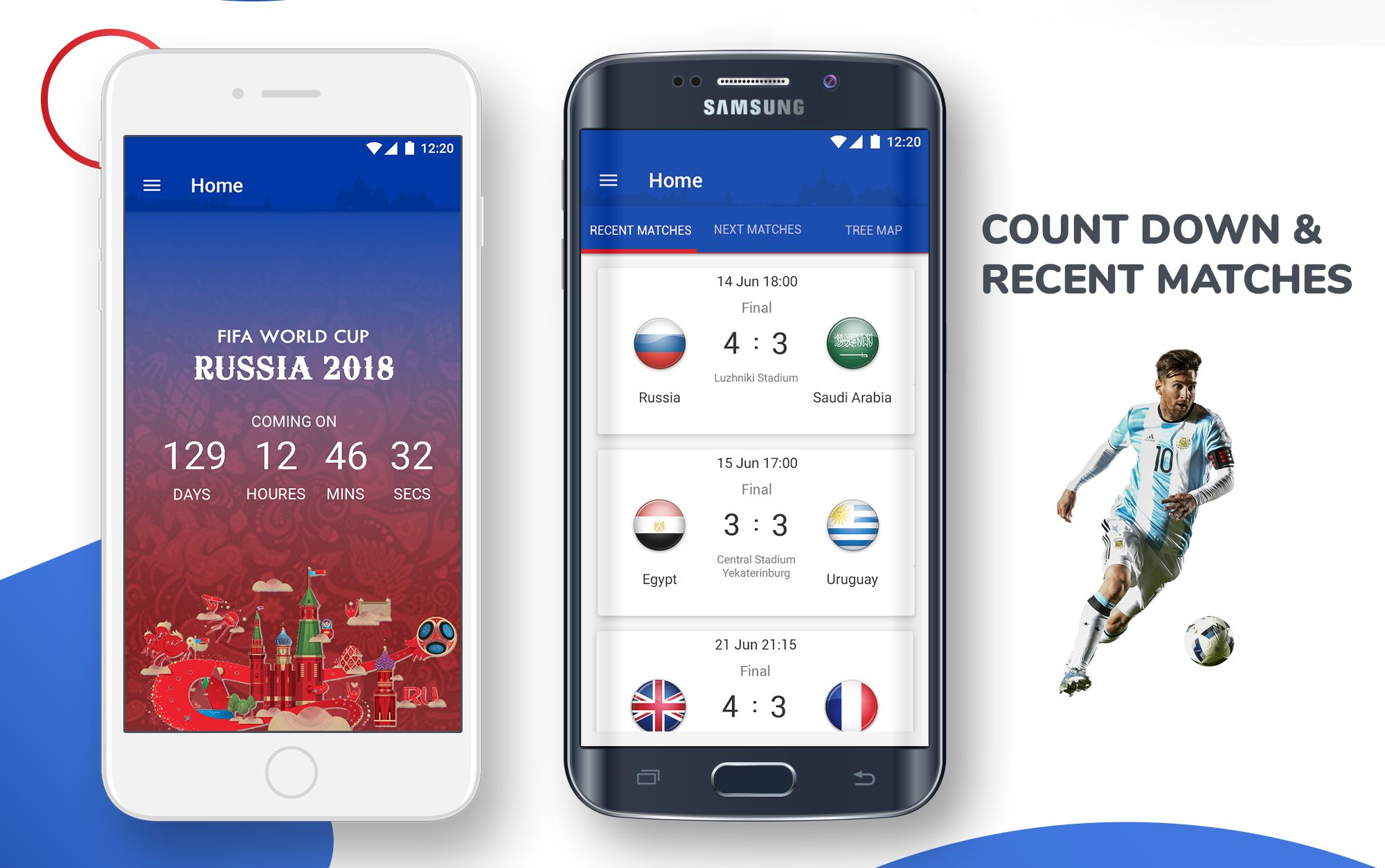 Live Scores Russia World Cup 2018 Android App Screenshot 2
