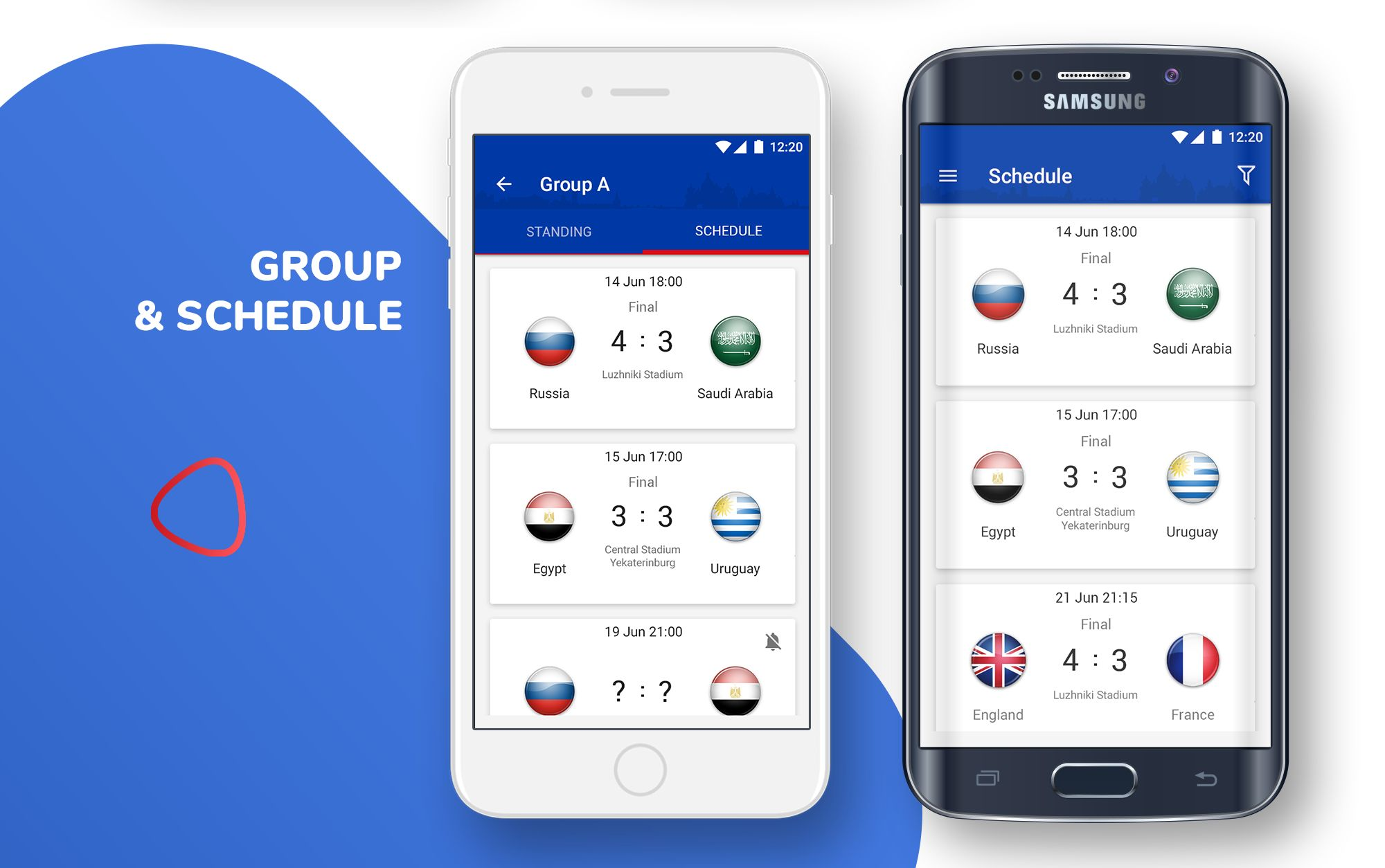 Live Scores Russia World Cup 2018 Android App Screenshot 5